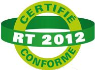 certifié conforme rt 2012