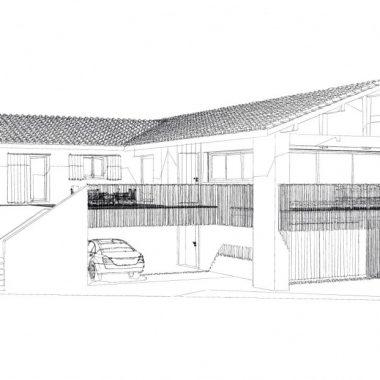 Villa Bassussarry - Architecte ALAMAN